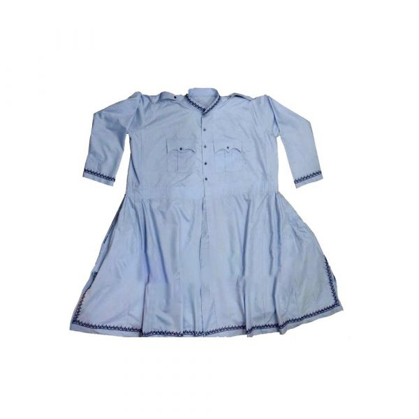 Sky Blue Chola with Embroidery Work