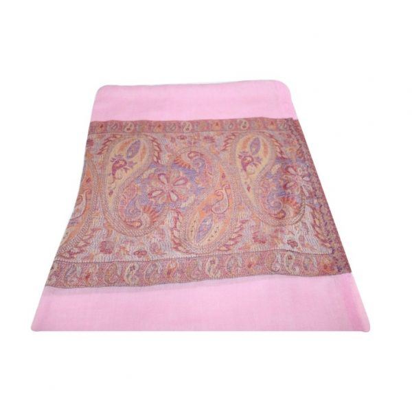 Extra Soft Pure Woolen Stole with Royal Self Work
