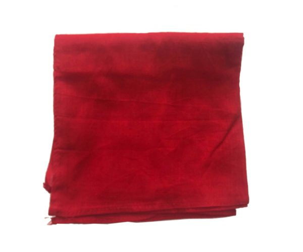 Blood Red – Big Size Patka Without Knots